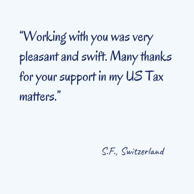 Testimonial S.F.
